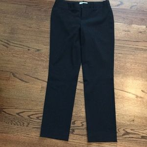 Gap true straight black pant size 4 R